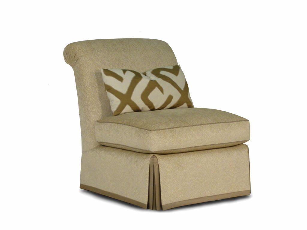 Brooke slipper chair for Slipper chair