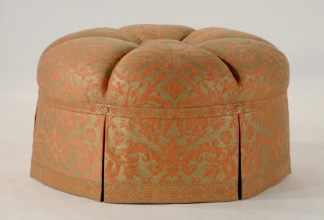 img_Channeled Round Ottoman